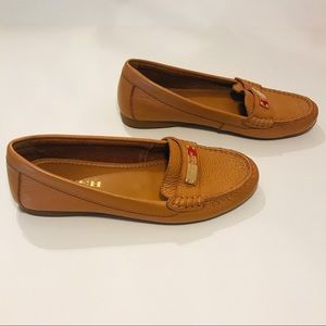 Coach Tan Flats Loafers